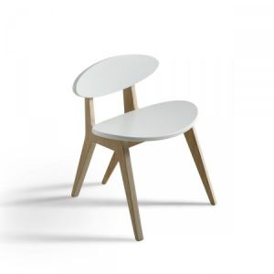Oliver´s PING PONG Chair, white/oak