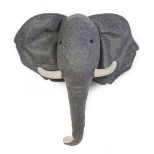 Wand Dekoration Elefant