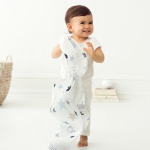"""Classic musy Swaddle 3 - Pack """" rock star """""""