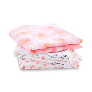"Classic musy Swaddle "" petal blooms """