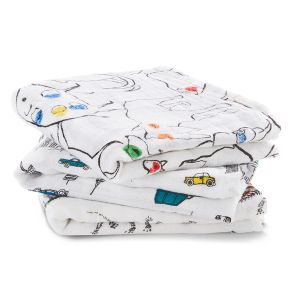 """Classic musy Swaddle 3 - Pack """" colour pop """""""