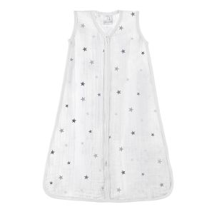 Sleeping bag - twinkle grey star