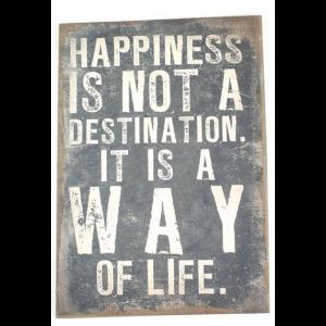 """Leinwand """"Happiness"""""""