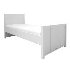 "BOPITA ""Basic Wood Collection"" Bed with high head piece"
