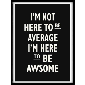 """Bild """"To be awesome"""""""