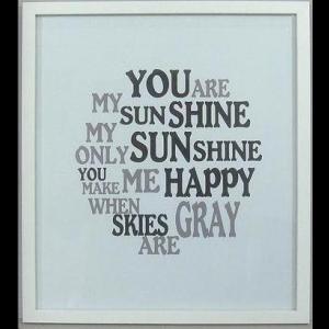 "Bild ""You are my sunshine"""