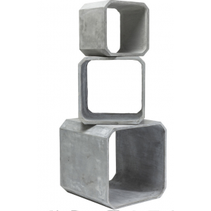 Cuben Square Concrete, Small