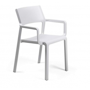 Trill Armchair-bianco