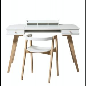 Wood Schreibtisch 72,6 cm & Armlehnstuhl