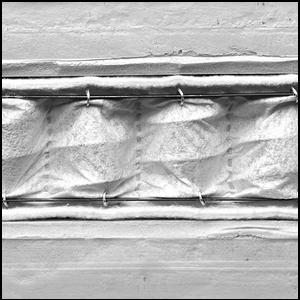Matratze Memoform Top Sense mit gesteppter Decke aus Gänsefedern