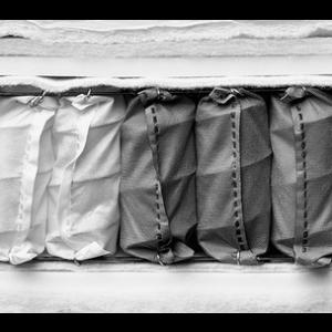 Taschenfederkernmatratze 3 Dichten - Medium