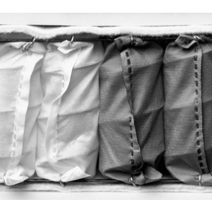 Taschenfederkernmatratze 3 Dichten - Extra Soft Top Sense mit antiallergischer gesteppter Decke
