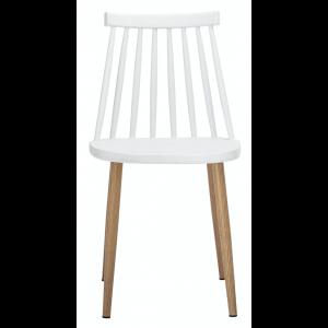 Bajo Stuhl, Weiß, Kunststoff