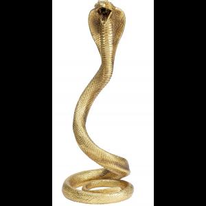 Deko Objekt Snake Gold 42cm