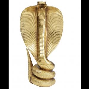Deko Schlange Gold
