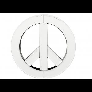 Wandschmuck Spiegel Peace