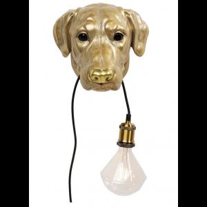 Wandleuchte Dog Head