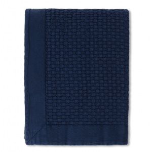 Waffle Structure Organic Cotton Bedspread