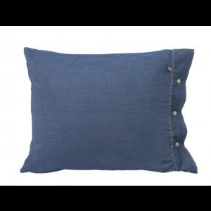 Icons Washed Denim Pillowcase