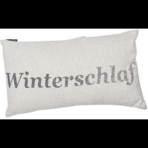 """SILVRETTA Kissen """"Winterschlaf"""""""