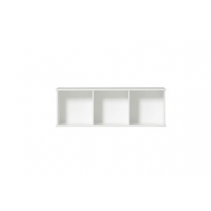 Wood Regal horizontal 3×1 zum Aufhängen (ohne Sockel & Kisten)