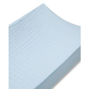 Classic changing mat cover, solid blue