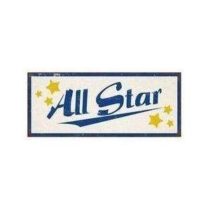 """Schild """" All Star"""""""