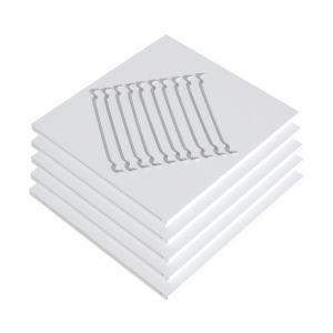 Extra Einlegeböden für Regal mit 3 Fächern